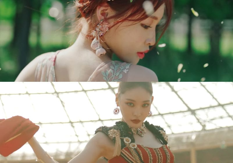 "WATCH: Chungha Channels A Vibrant Spirit In ""PLAY"" Featuring Changmo"