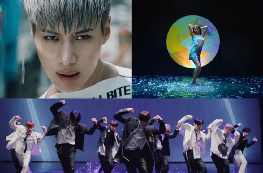 10 Times K-pop Music Videos Wowed With A Water Dance