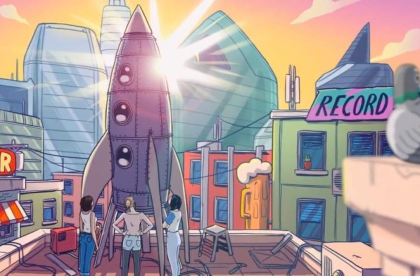 "WATCH: OH MY GIRL, Keanu Silva, And Mougleta Explore Possibilities In ""Rocket Ride"" Animated MV"
