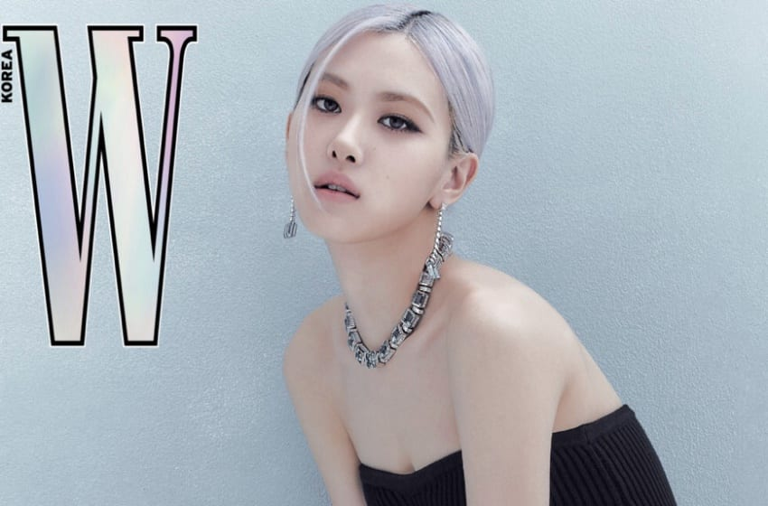 BLACKPINK's Rosé Stuns On The Cover Of W Korea Magazine And In Special Video With Tiffany & Co. Jewelry