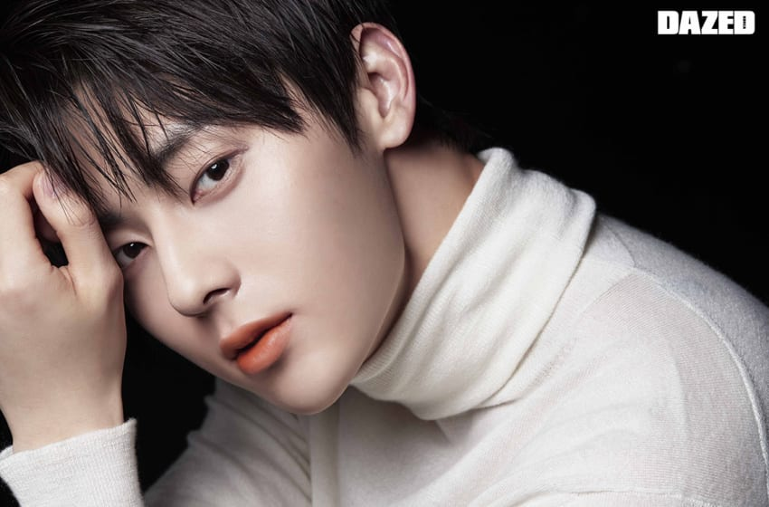 NU'EST's Hwang Minhyun Looks Handsome In Lancôme Photoshoot For DAZED Magazine