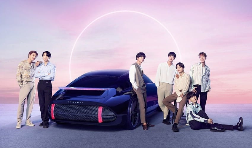 "WATCH: BTS Teams Up With Hyundai For ""IONIQ: I'm On It"" Promotional MV"