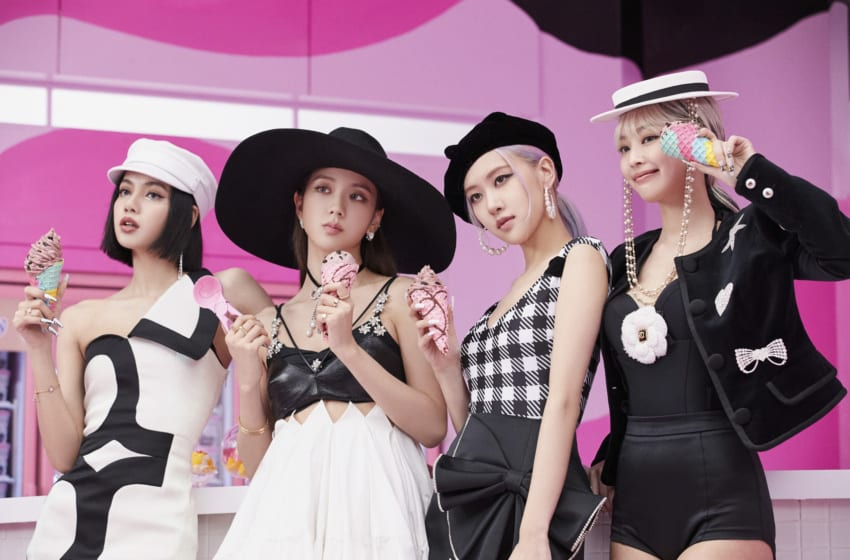 "Get The Look (For Less!): BLACKPINK And Selena Gomez's Chic Style In ""Ice Cream"""