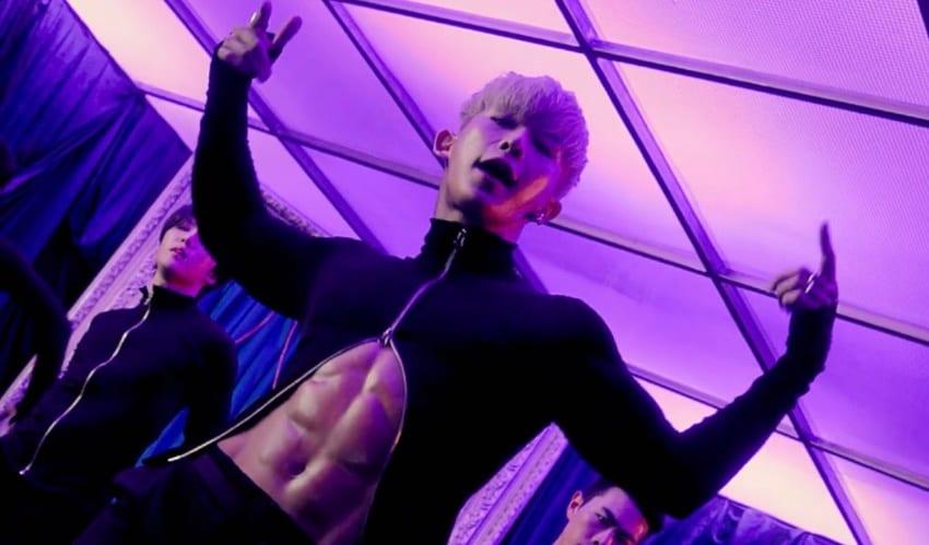 "WATCH: Wonho Intoxicates With Seductive ""Open Mind"" MV - What The KPop"