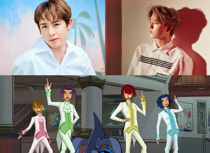 "WATCH: 2PM's Nichkhun And DAY6's Jae Lend Their Voices To Crime-Fighting Boy Band In ""Big Hero 6 The Series"""