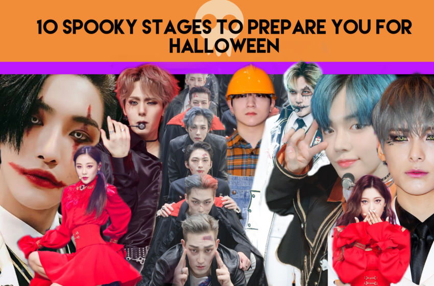 10 Spooky K-pop Stages To Prepare You For Halloween