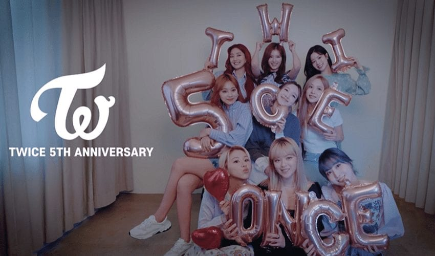 TWICE To Celebrate 5th Anniversary With Live Streaming Event
