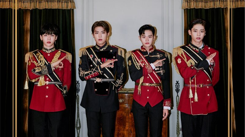 """WATCH: AB6IX Is Regal In New """"SALUTE"""" MV For Comeback"""