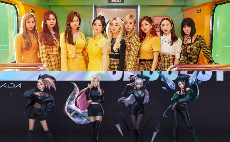 """LISTEN: TWICE Takes Part In K/DA's """"I'll Show You"""" Official Track"""